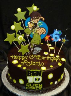 ben 10 - nephews cake ideas