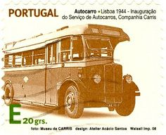 postage stamps from portugal | Portugal - Stamp, 2008 bus E 20 grs | Flickr - Photo Sharing!