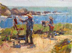 Jim McVicker, June 2021 Easels, Painters, June, Outdoor, Art, Outdoors, Art Background, Saw Horses, Kunst