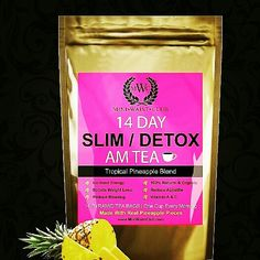 Try New 14 DAY Slim/Detox Tea!! Morning Tea has 100% All Natural Ingredients!! Boost Weightloss & Increases Energy! New Easy Grab & Go individual tea bags!!