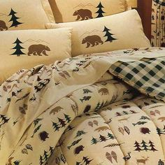 Mountain Lodge Decor | Northern Exposure Sheet Set | Rocky Mountain Cabin Decor