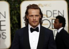 Pictured: Actor Sam Heughan arrives at the 73rd Golden Globe Awards in Beverly Hills, California January 10, 2016.