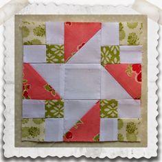 Threadbare Creations: Chatelaine- Free BOW Sampler Quilt Block One
