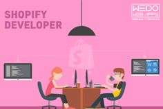 Qualified Experts #Shopifydeveloper (http://www.wedowebapps.com/shopify-development.html) in #Shopify #Development, #WeDoWebApps help #business #owners and entrepreneurs build wonderful #online #stores using Shopify's