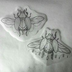 ds - ds -You can find Kleding and more on our website. Bug Tattoo, Hand Tattoo, Sternum Tattoo, Tattoo Sketches, Tattoo Drawings, Body Art Tattoos, Scarab Beetle Tattoo, Noir Tattoo, Tattoo Stencils
