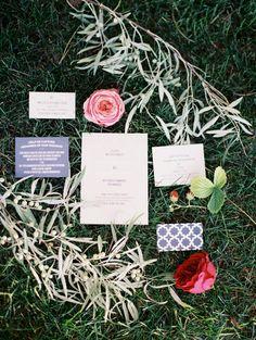 garden wedding invitation - photo by Green Apple Photography http://ruffledblog.com/salt-lake-city-hardware-company-wedding #invitations
