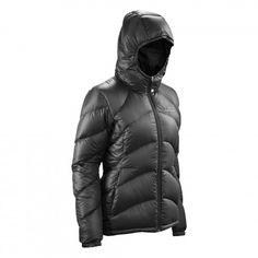 Duck Down v4 Puffer Jacket with Hood Women - Black