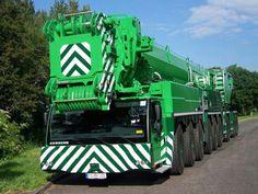 GREEN machine.Not a John Deere,Terex,Euclid ,Senneborg  or Oliver