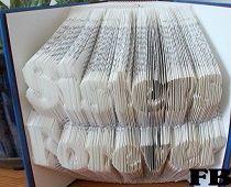 Free Fold Book Folding Pattern of champagne bucket