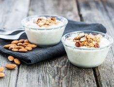 Do-It-Yourself Homemade Almond Milk Dairy-Free Yogurt