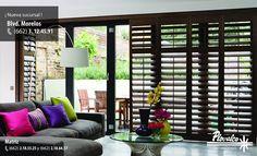 El estilo de la madera nunca pasa de moda por eso los Shutters siempre enmarcaran bellamente cualquier venta de tu hogar #plovalco #persianas #cortinas #decoracion #decoraciondeinteriores #hermosillo #sonora #casa #hogar #homedecoration #shutter - http://ift.tt/1QIZuz0