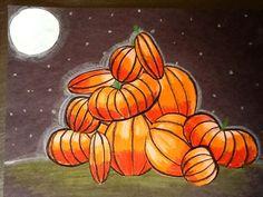 pumpkin art project - Google Search
