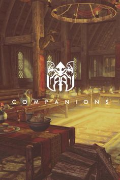 I loved the hall of the companions. Mead flows, tables are abundant with food, family of warriors chatting up on the day's events.
