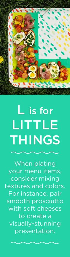 L is for LITTLE THINGS