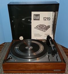 VINTAGE DUAL 1219 TURNTABLE! ABSOLUTE MUST SEE~EXCEPTIONAL CONDITION~NO RESERVE!