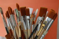 Cómo elegir pinceles para pintar al óleo. Curso de pintura.