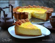 Dishes from cottage cheese Russian Desserts, Russian Recipes, Cottage Cheese, Cheesecake, Pie, Sweets, Dishes, Baking, Food