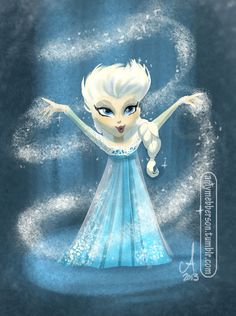 Elsa This is a teaser posted just today, not sure if it's THE trailer Disney's been pimping for the last week, but for now, as of writing, it's all we have.