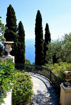 Looking out to the Ionian sea - Corfu