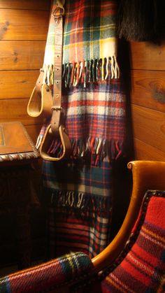 tartan blankets I skótkockás plédek
