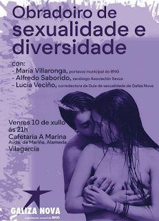 CORES DE CAMBADOS: OBRADOIRO DE SEXUALIDADE E DIVERSIDADE