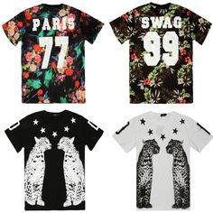 15.00$ 14 styles Hot sale good quality mens pyrex ktz short Sleeve t shirt summer fashion hba men hip hop clothing medusa-in T-Shirts from Apparel ...
