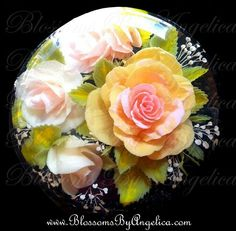 Roses in gelatin art Puding Art, 3d Jelly Cake, Jelly Flower, Mousse, 3d Cakes, Just Cakes, Cake Decorating Tutorials, Edible Art, Culinary Arts