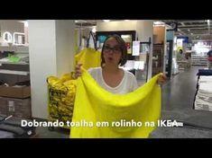 Como dobrar lençol de elástico - jogo de cama - YouTube