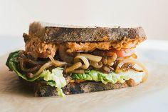 SMOKEY BUTTER BEAN HOUMOUS + THE BEST PICNIC SANDWICH | Good Eatings