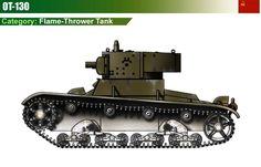 OT-130 flamethrower tank