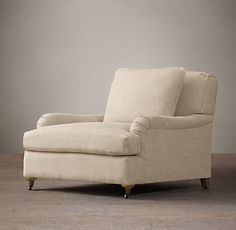 Belgian Classic Roll Arm Upholstered Chair   Restoration Hardware