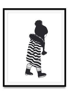 Kleines Mädchen Poster   Ulrike Wathling