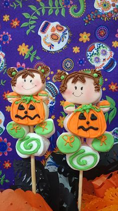 figuras de halloween con malvavisco - Buscar con Google