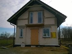 Elewacja frontowa #dom #elewacja #projekt