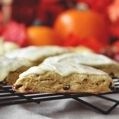 Pumpkin Cranberry Scones by CandidAppetite