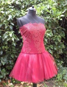 Csipkés alkalmi ruha - tündEszter Bridal dress