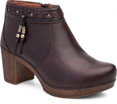 c0551ece276 Dansko Dabney Boot  Chocolate Full Grain Leather Dansko Boots