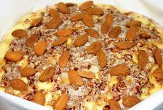 Colomba almond glaze
