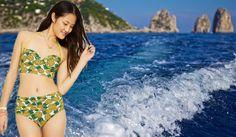 """Tendenze #moda mare 2015: quest'anno va di moda il #midkini!Per i vostri costumi stop a tanga e perizoma mozzafiato, quest'estate il modello di riferimento è la Marilyn delle spiagge californiane degli anni '50:  non si lesina sui centimetri di Lycra e va di moda il midkini!Evoluzione del monokini e del trikini, il midkini è un due pezzi """"rinforzato"""", con lo slip quasi come uno short ben al di sopra del punto vita.La """"nuova"""" tendenza facilita le donne più formose e si può abbinare a..."""