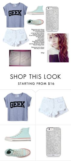 """Untitled #692"" by this-is-the-world-i-live-in on Polyvore featuring Converse, women's clothing, women, female, woman, misses and juniors"
