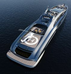 ★ Visit ~ MACHINE Shop Café ★ ($150,834,000 Superyacht Design)