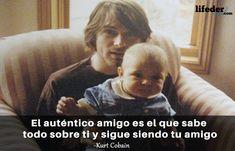 Querer ser otra persona es un desperdicio de la persona que eres. Nirvana, Kurt Cobain Frases, We Remember, I Hope You, Sentences, Mj, Rock, Get Well Soon, Best Quotes