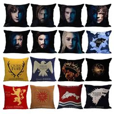 Check out this Game of Thrones Cushion Cover  Only 13.99$ and FREE Shipping Worldwide  Tag a friend who would love this!  Active link in BIO  #gameofthrones