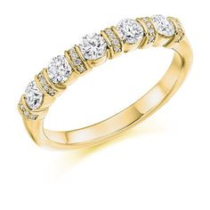 Diamond Weight: Diamond Cut: Round Brilliant Width: Diamond Coverage: Ref No: Eternity Rings, Round Bar, Bangles, Bracelets, Diamond Cuts, Gold Rings, Rose Gold, Jewels, Yellow