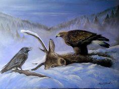 Drsnosť prírody olejomaľba na plátne,70x90cm