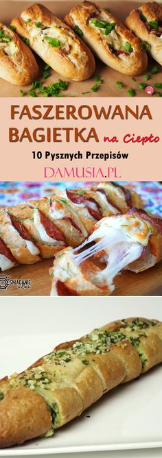Bruschetta, Hot Dog Buns, Baked Potato, Breakfast Recipes, Grilling, Food And Drink, Appetizers, Pizza, Sweets