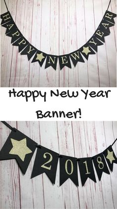 Perfect banner for my New Years party! Have to get the 2018 banner to make it complete, but the house will look better for it! - #banner #ad #newyears #partydecor #decor #prop