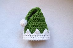 Adorably Elfish Preemie Hat | AllFreeCrochet.com