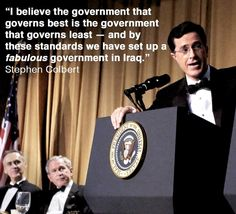 Lavoro Palermo  #lavoropalermo #lavoro #Palermo #workisjob I believe the government that governs best is the government that governs least... Stephen Colbert 2006 [1100x1000]