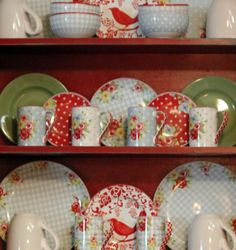 I want these dishes!
